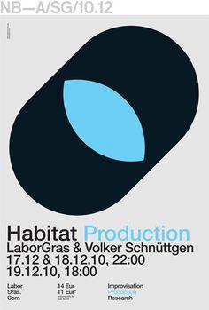 Neubau (Berlin)/LaborGras Poster Series, Communication Design