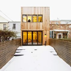 Brooklyn Row House by OA Office Of Architecture