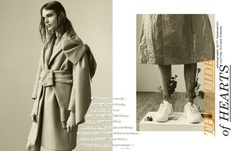 Exclusive The Guide of Hearts Editorial Featuring Anna Mila Guyenz by Will Vendramini - Fashion Editorials