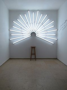 You Are a Saint : Yochai Matos #art #installation #light #yochai matos