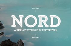Nord #type #lettering #typeface #typography