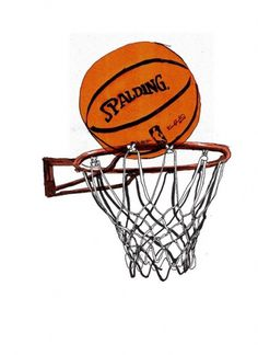 basket | Flickr: Intercambio de fotos #aijon #basket #ball #pelota #canasta #aro #illustration #juego #spalding #play #baloncesto #jorge