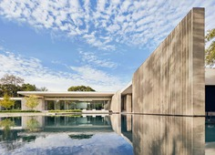 Dallas Residence Represents Resurgence of New Brutalism By Specht Architects