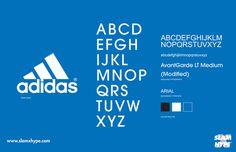 Adidas #font #adidas