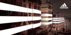 KMS BLACKSPACE : Brand Experience #campaign #stripes #adidas