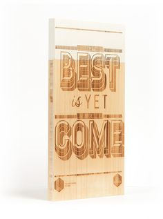 Laser etched typographic designs on bamboo boards #handcrafted #lettering #design #graphic #craftsmanship #type #typography