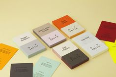 New Logo and Identity for G . F Smith by Made Thought #business #smith #gf #made #colorplan #cards #thought