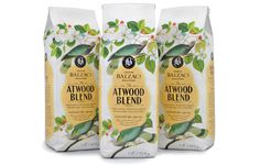 Free Flavour » Atwood Blend Coffee #packaging #design #graphic #bird #coffee
