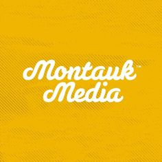 Montauk Media Logo - Jeremy Paul Beasley | Designer & Maker of Things #logo #script #typography