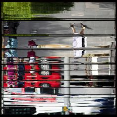 somewhere on Orchard Road again | Flickr - Photo Sharing! #abstract #form #photography #architecture #distortion #reflection