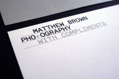 HypeType_MatthewBrown2_2000.jpg 2000×1333 pixels #design #identity #branding #stationery