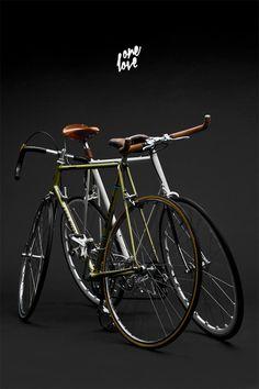 one love #fixie #swyss #singlespeed #bike #koga #love #miyata