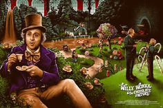 Willy Wonka and the Chocolate Factory by Adam Rabalais