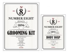 No. 8 - design #packaging #labels