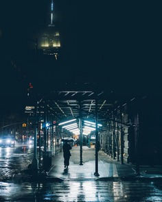 Moody and Cinematic NYC Street Photography by Mike Szpot