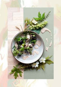 Blacktail Florist on Behance #food