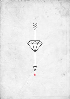 arrowtattoo #diamond #arrow