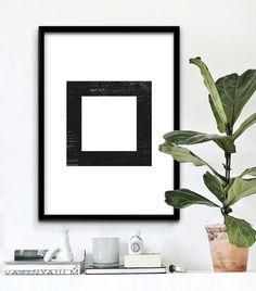 Abstract wall art by #iloveprintable