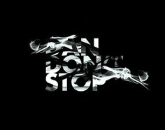 Smoke + Type on the Behance Network