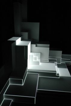 augmented sculpture series : pablo valbuena #art #installation #light #projection #pablo valbuena #projection mapping
