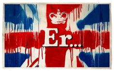 Bryan Riddle - Jubliee Banksy Er Banksy giving away an exclusive... #jubilee #union #print #diamond #banksy #jack #art #street