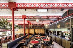 Barcelona Restaurant Features Eclectic Design - InteriorZine #restaurant #decor #interior