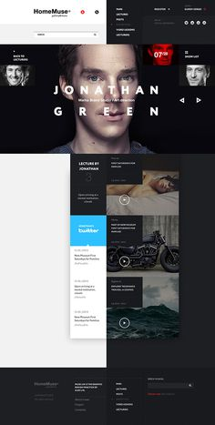 HomeMuse Gallery on Behance #design #web