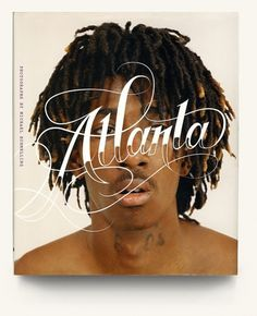 Atlanta on the Behance Network #cover #book #typography