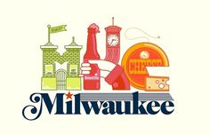 MKE | Flickr - Photo Sharing! #beer #cheese #milwaukee #design #pettis #illustration #type #jeremy