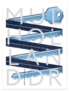 Mulholland Drive - Matt Chase | Design, Illustration #poster #illustration