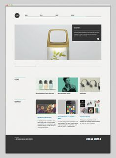 Clean #interactive #portfolio #design #webdesign #layout #web
