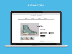 Product Page #design #ui #ecommerce #store #web #online