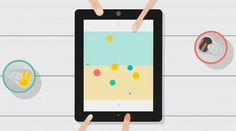 OLO by Sennep Promotional Video on Behance #ipad #illustration #pastel