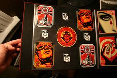 The Giant: The Definitive Obey Giant Site • View topic - OBEY sticker collection.