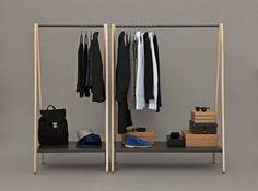 (2) Tumblr #clothing #shelving #simple #furniture #style
