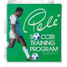 Vintage Pele Soccer Training Book $42.00  NY COSMOS SOCCER TRAINING PROGRAM
