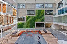 Airbnb's San Francisco Headquarters #interior #office #design #architecture #workspace #startup