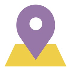 See more icon inspiration related to pin, map location, placeholder, map pointer, map point, Maps and Flags and signs on Flaticon.