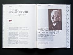The Russian Diaspora in Latvia on Editorial Design Served #layout #editorial