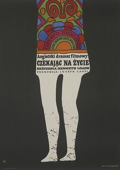Voices Of East Anglia: 1960s Polish Film Poster Art #print #design #illustration #poster