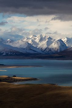 Godly Peaks Road, Lake Tekapo by ZacRobinson