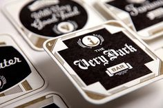 Esquire Magazine - #beer #coasters #letterpress #bar