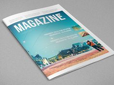 Minimal Magazine. Download here: http://graphicriver.net/item/minimal-magazine/6680861?ref=abradesign