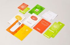 Design Work Life » YIU Studio: ICHS Gala Materials #gala #colorful #invitation