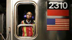 New York Subway Drivers Portraits – Fubiz™