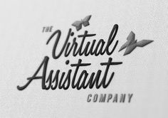 Virtual Assistant Company logo #embroiled #jamie #office #brand #wisdom #assistant #logo