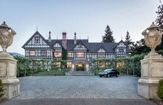 """Known by some as the """"Morgan Estate,"""" the 30,000-square-foot house received landmark status when it was completed by former Stanford Univers"""