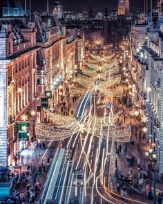 Incredible Moody Street Shots of London by Nige Levanterman