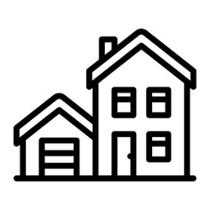 See more icon inspiration related to rent, house, home, real estate, garage and buildings on Flaticon.