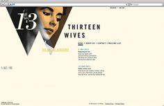 Foreign Policy Design Group » 13 Wives : Web #interactive #web design #foreign #policy #design #group